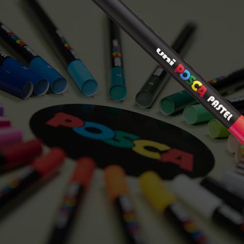 POSCA pastels