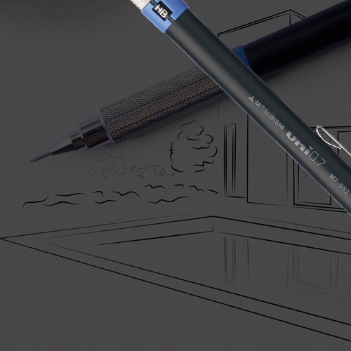 Technical mechanical pencils