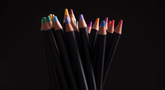 posca pencil crayon de couleur