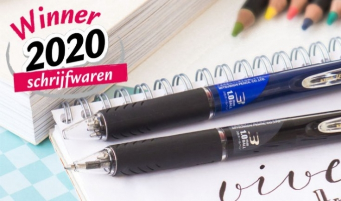The JETSTREAM 3 hybrid rollerball: winner at the 2020 PAPERSHOW